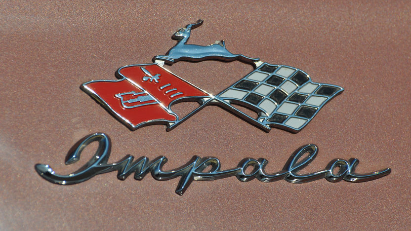 1958 Chevrolet Impala Convertible 348 CI, Continental Kit presented as lot S9 at Indianapolis, IN 2013 - image10