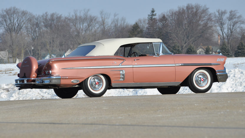 1958 Chevrolet Impala Convertible 348 CI, Continental Kit presented as lot S9 at Indianapolis, IN 2013 - image11