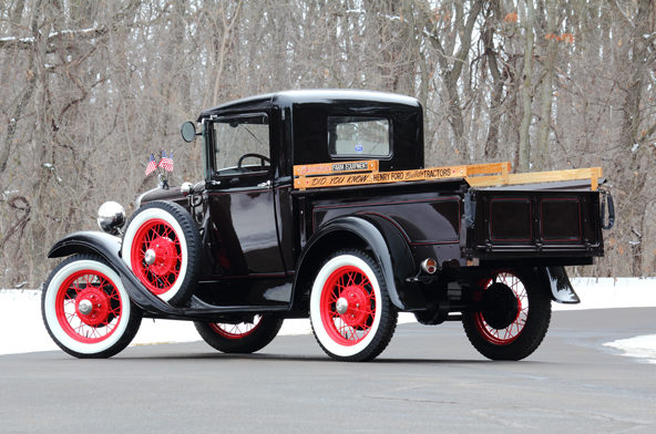 1930 Ford Model A Pickup presented as lot S31 at Indianapolis, IN 2013 - image3