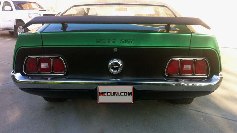 1971 Ford Mustang Boss 351 351/330 HP, 4-Speed presented as lot S54 at Indianapolis, IN 2013 - image3
