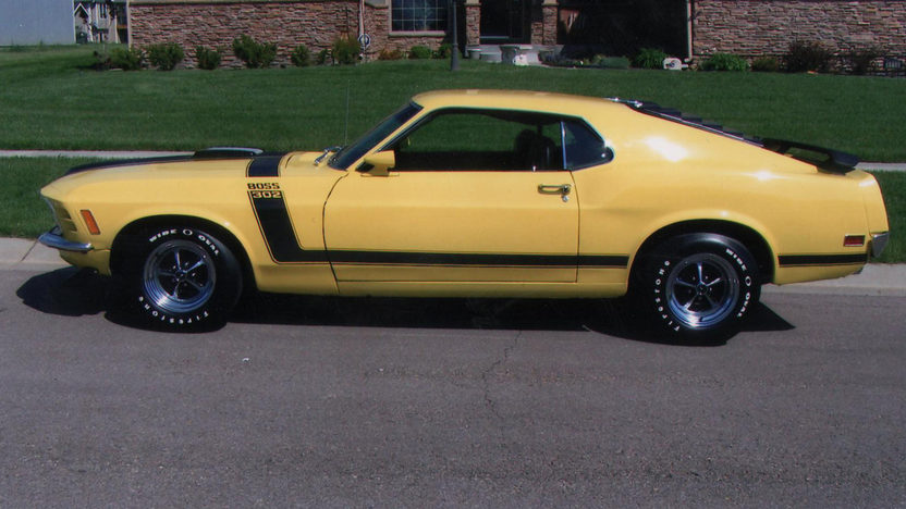 1970 Ford Mustang Boss 302 Fastback 302/290 HP, 4-Speed presented as lot S66 at Indianapolis, IN 2013 - image2