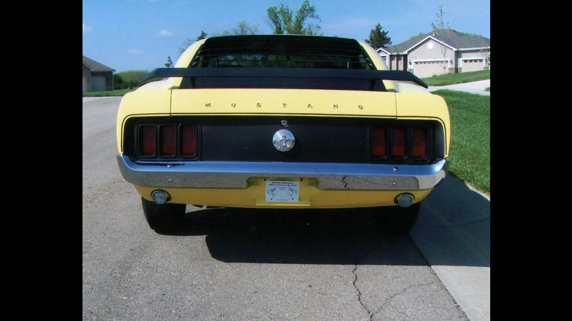 1970 Ford Mustang Boss 302 Fastback 302/290 HP, 4-Speed presented as lot S66 at Indianapolis, IN 2013 - image3