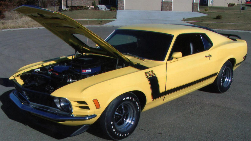 1970 Ford Mustang Boss 302 Fastback 302/290 HP, 4-Speed presented as lot S66 at Indianapolis, IN 2013 - image5