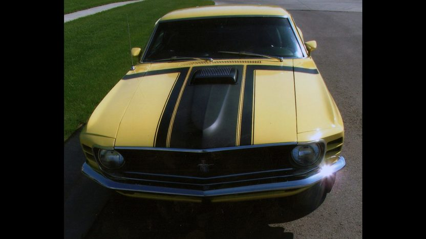 1970 Ford Mustang Boss 302 Fastback 302/290 HP, 4-Speed presented as lot S66 at Indianapolis, IN 2013 - image7