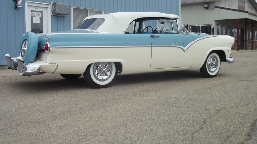 1955 Ford Sunliner 292/193 HP, Automatic presented as lot S73 at Indianapolis, IN 2013 - image2