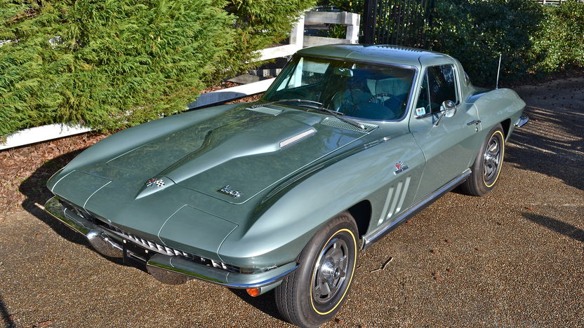 1966 Chevrolet Corvette Coupe Bloomington Gold Certified presented as lot S86 at Indianapolis, IN 2013 - image7