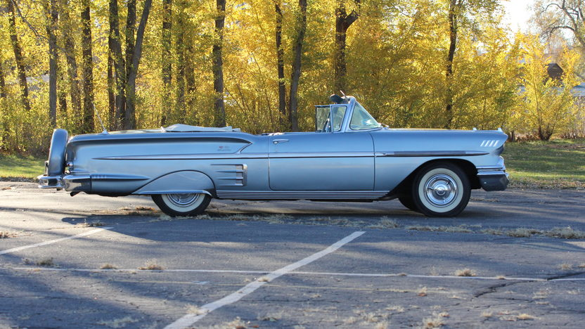 1958 Chevrolet Impala Convertible 348 CI, Automatic presented as lot S191 at Indianapolis, IN 2013 - image2