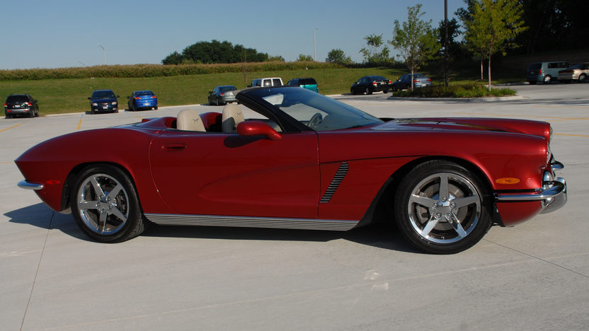 2003 Chevrolet Corvette Conversion presented as lot S236 at Indianapolis, IN 2013 - image2
