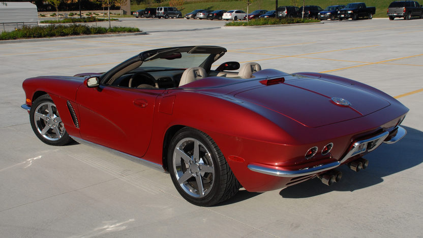 2003 Chevrolet Corvette Conversion presented as lot S236 at Indianapolis, IN 2013 - image8
