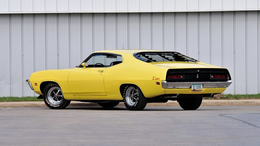 1971 Ford Torino Cobra Jet 429/370 HP, Automatic presented as lot U74 at Indianapolis, IN 2013 - image3