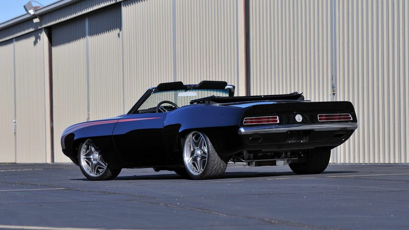 1969 Chevrolet Camaro Convertible Resto Mod, 565/650 HP, 5-Speed presented as lot U76 at Indianapolis, IN 2013 - image3