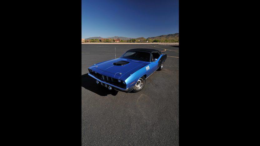 1971 Plymouth Hemi Cuda 426/425 HP, 4-Speed, 'Haircut Hemi' presented as lot U81 at Indianapolis, IN 2013 - image11