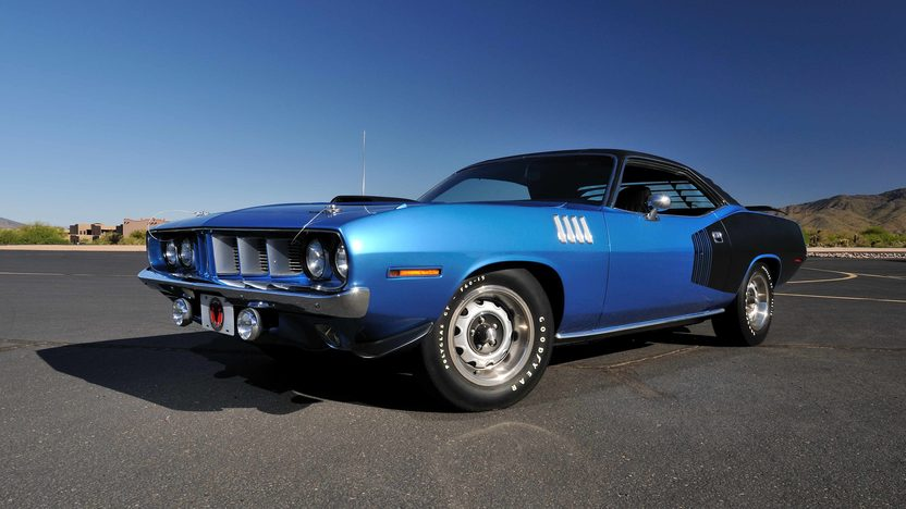 1971 Plymouth Hemi Cuda 426/425 HP, 4-Speed, 'Haircut Hemi' presented as lot U81 at Indianapolis, IN 2013 - image12