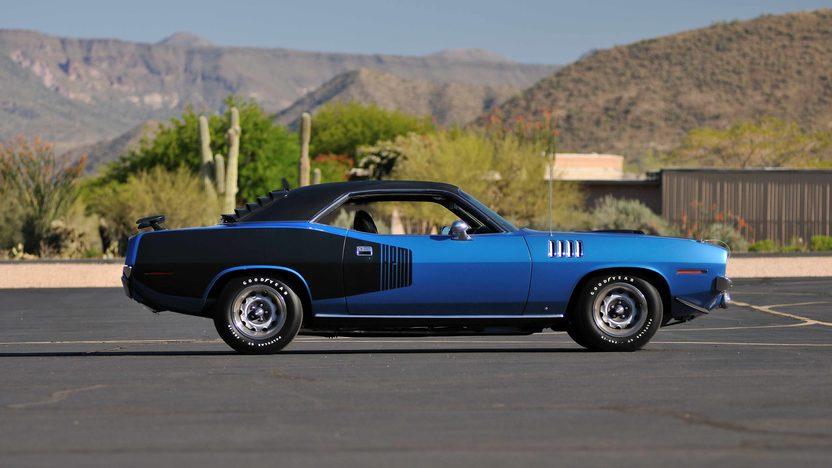 1971 Plymouth Hemi Cuda 426/425 HP, 4-Speed, 'Haircut Hemi' presented as lot U81 at Indianapolis, IN 2013 - image2
