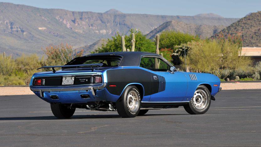 1971 Plymouth Hemi Cuda 426/425 HP, 4-Speed, 'Haircut Hemi' presented as lot U81 at Indianapolis, IN 2013 - image3