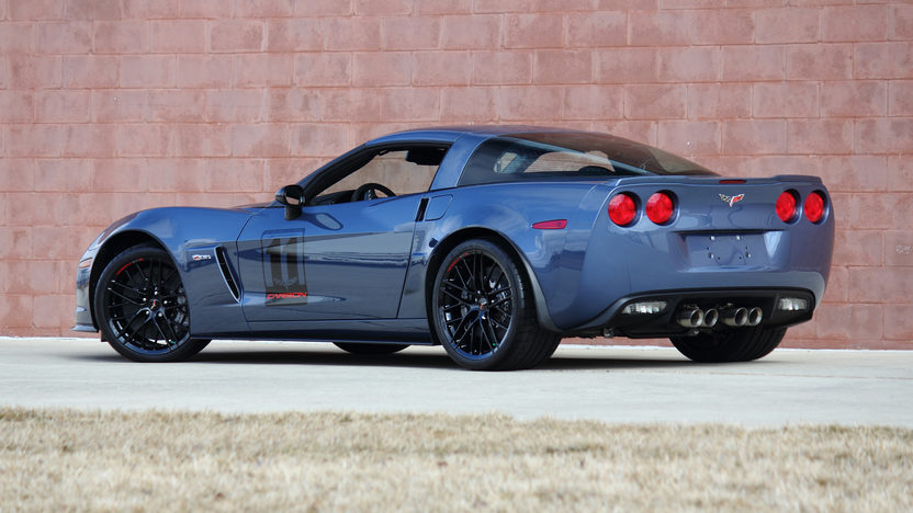 2011 Chevrolet Corvette Z06 Carbon Edition Only 52 Miles presented as lot F192 at Indianapolis, IN 2013 - image12
