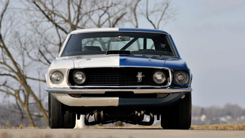1969 Ford Mustang Cobra Jet Race Car Mecum Indianapolis