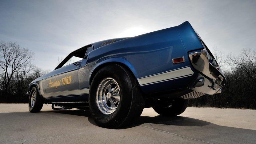 1969 Ford Mustang Cobra Jet Race Car Mecum Indianapolis 2013 F215