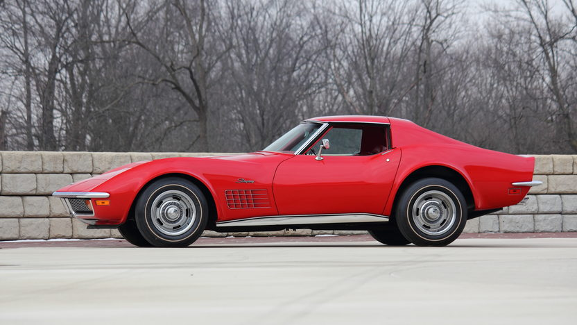 1972 Chevrolet Corvette ZR1 The Only Known Factory Red/Red ZR1 presented as lot F223 at Indianapolis, IN 2013 - image2