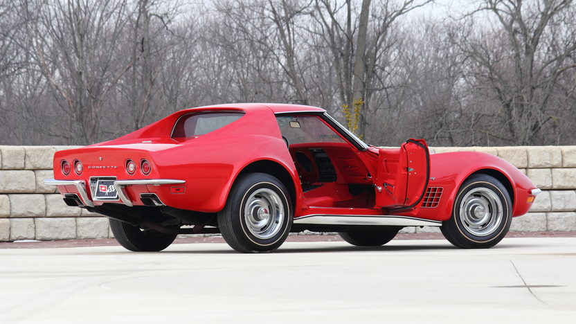 1972 Chevrolet Corvette ZR1 The Only Known Factory Red/Red ZR1 presented as lot F223 at Indianapolis, IN 2013 - image3
