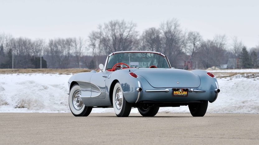 1957 Chevrolet Corvette Convertible 283/270 HP, 4-Speed presented as lot F245 at Indianapolis, IN 2013 - image11
