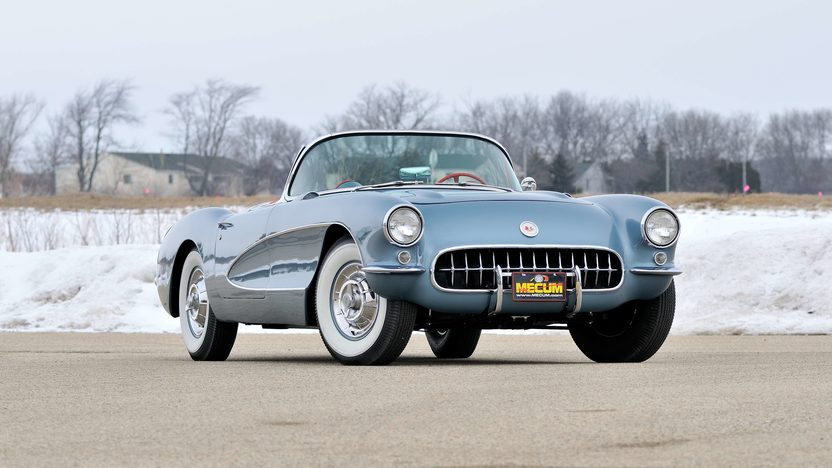 1957 Chevrolet Corvette Convertible 283/270 HP, 4-Speed presented as lot F245 at Indianapolis, IN 2013 - image12