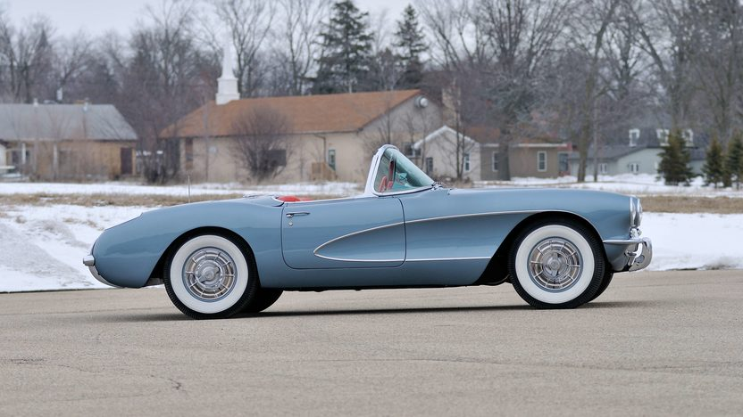 1957 Chevrolet Corvette Convertible 283/270 HP, 4-Speed presented as lot F245 at Indianapolis, IN 2013 - image2