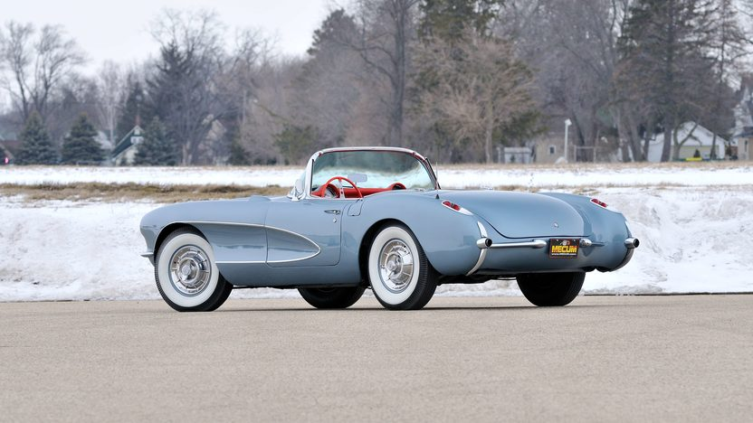 1957 Chevrolet Corvette Convertible 283/270 HP, 4-Speed presented as lot F245 at Indianapolis, IN 2013 - image3