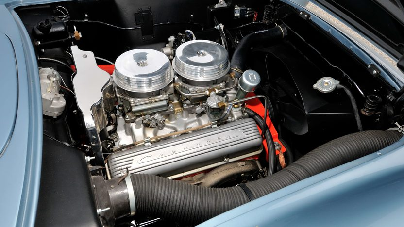 1957 Chevrolet Corvette Convertible 283/270 HP, 4-Speed presented as lot F245 at Indianapolis, IN 2013 - image6