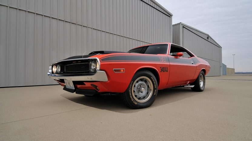 1970 Dodge Challenger T/A 340 Six Pack, 4-Speed presented as lot F256 at Indianapolis, IN 2013 - image12