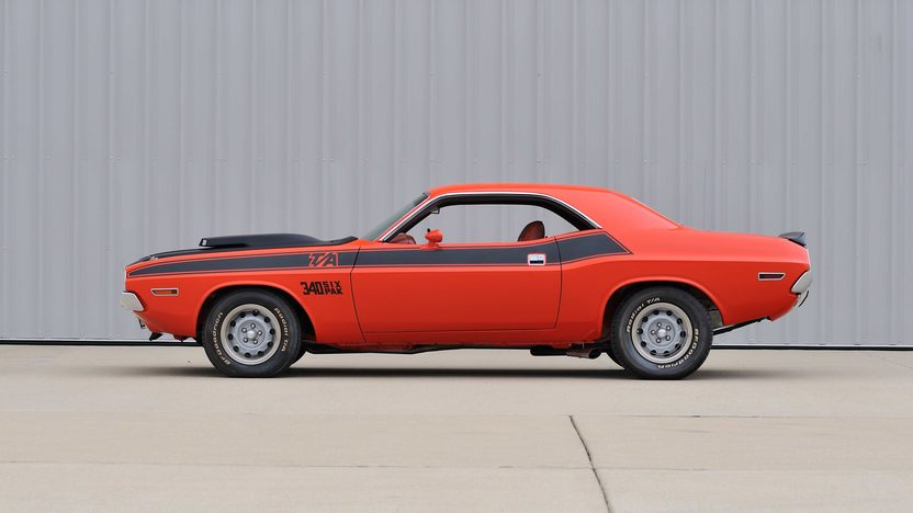 1970 Dodge Challenger T/A 340 Six Pack, 4-Speed presented as lot F256 at Indianapolis, IN 2013 - image2