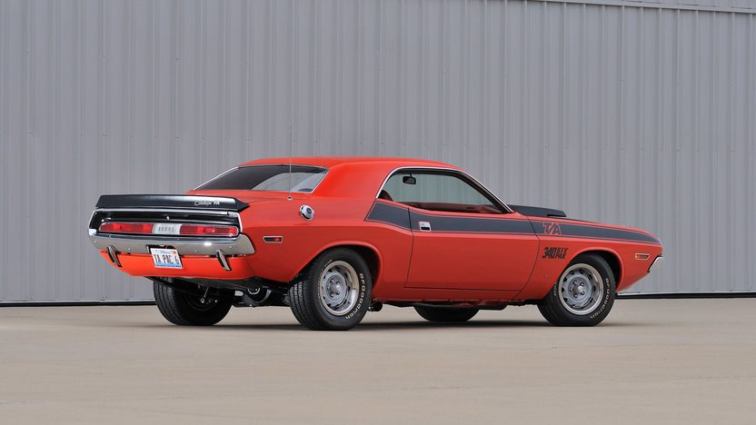1970 Dodge Challenger T/A 340 Six Pack, 4-Speed presented as lot F256 at Indianapolis, IN 2013 - image3