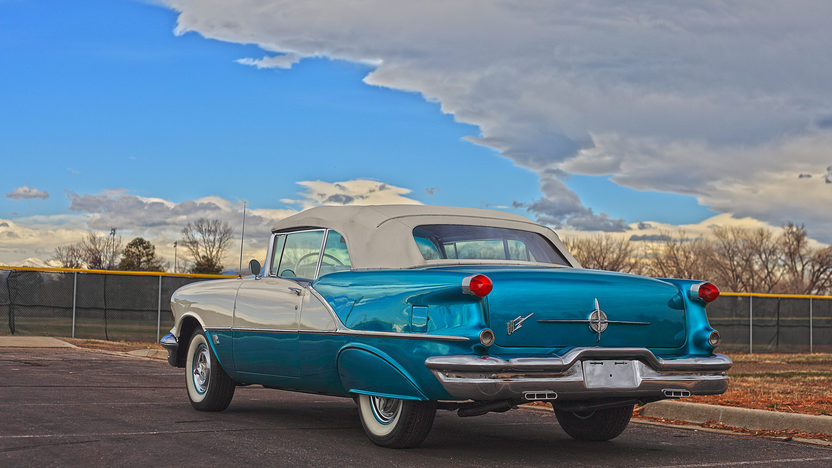 1956 Oldsmobile Super 88 Convertible 324 CI, Nut and Bolt Restoration presented as lot F257 at Indianapolis, IN 2013 - image3