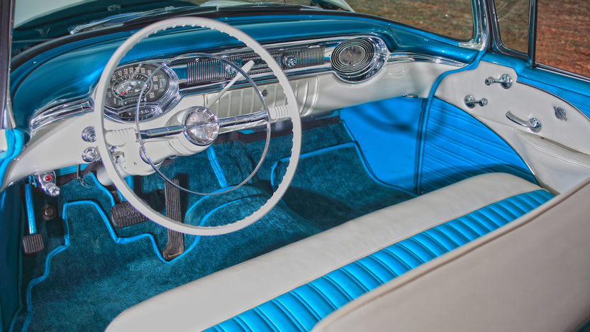1956 Oldsmobile Super 88 Convertible 324 CI, Nut and Bolt Restoration presented as lot F257 at Indianapolis, IN 2013 - image4