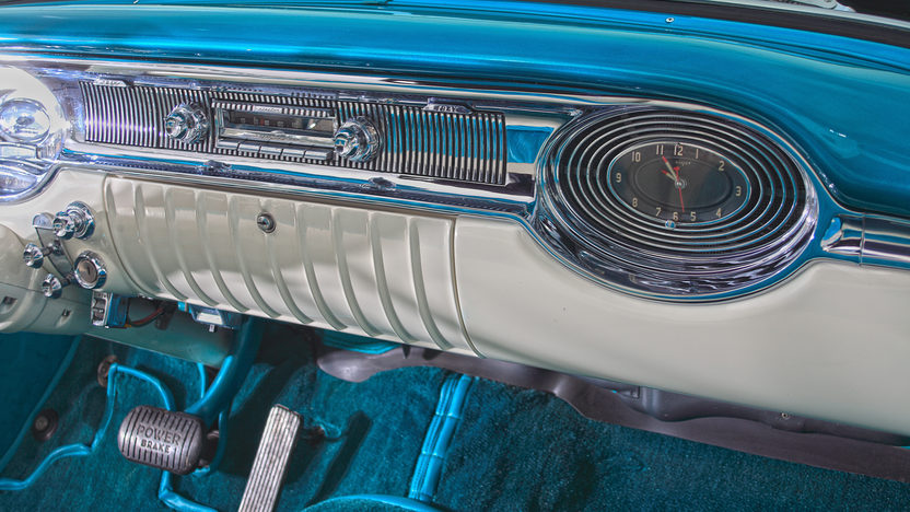 1956 Oldsmobile Super 88 Convertible 324 CI, Nut and Bolt Restoration presented as lot F257 at Indianapolis, IN 2013 - image5