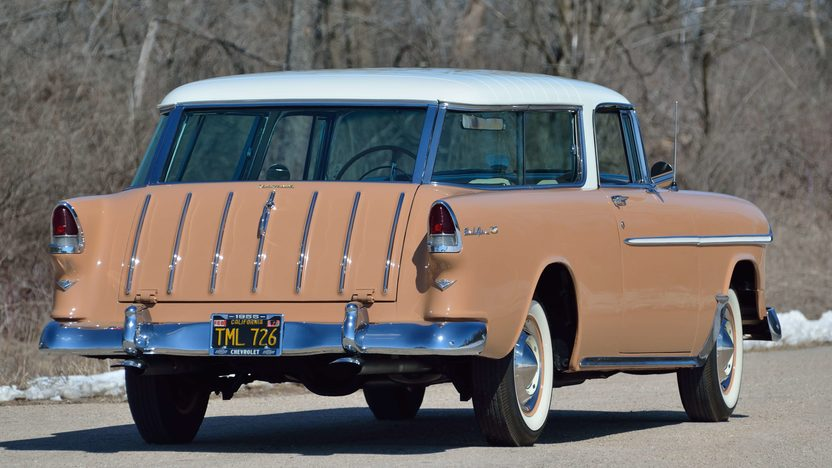1955 Chevrolet Nomad Wagon 265 CI, Automatic presented as lot F258 at Indianapolis, IN 2013 - image2