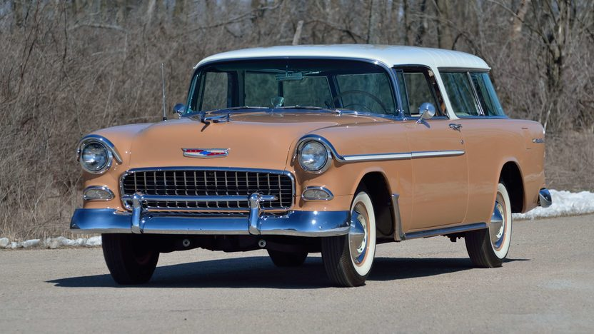 1955 Chevrolet Nomad Wagon 265 CI, Automatic presented as lot F258 at Indianapolis, IN 2013 - image3