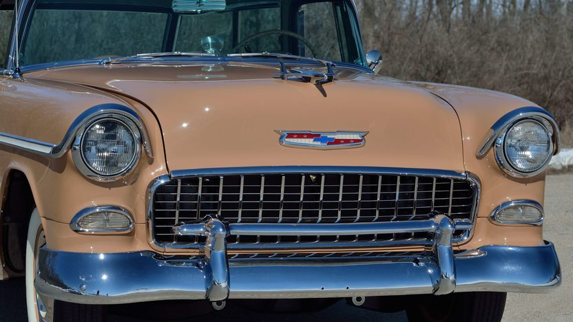 1955 Chevrolet Nomad Wagon 265 CI, Automatic presented as lot F258 at Indianapolis, IN 2013 - image9