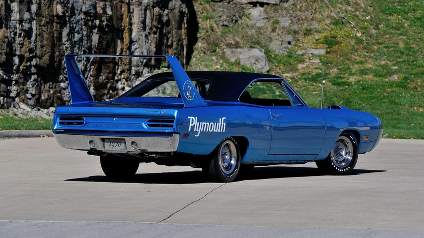 1970 Plymouth Superbird 440/375 HP, 4-Speed, Build Sheet presented as lot S118 at Indianapolis, IN 2013 - image3