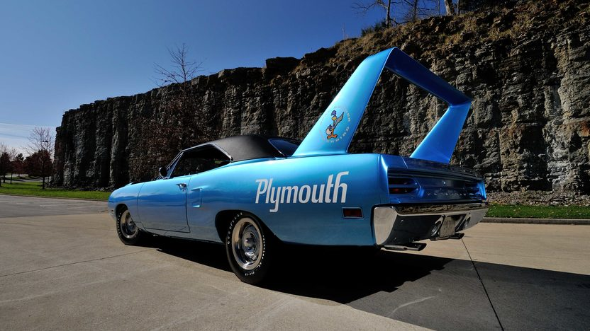 1970 Plymouth Superbird 440/375 HP, 4-Speed, Build Sheet presented as lot S118 at Indianapolis, IN 2013 - image8
