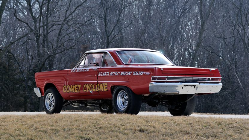 1965 Mercury Comet 427 SOHC A/FX Super Cyclone Driven by Dyno Don Nicholson presented as lot S154 at Indianapolis, IN 2013 - image3