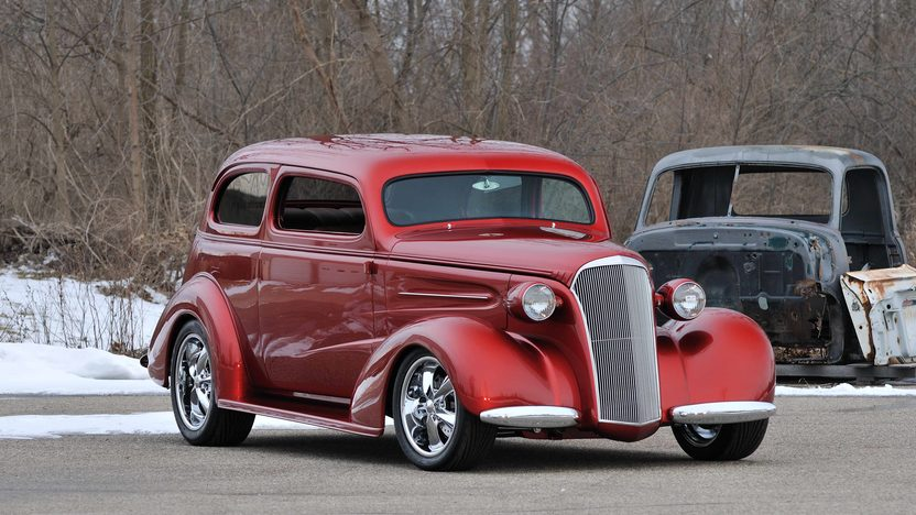 1937 Chevrolet Master Deluxe Street Rod Ridler Award Great 8 Finalist presented as lot S158 at Indianapolis, IN 2013 - image12