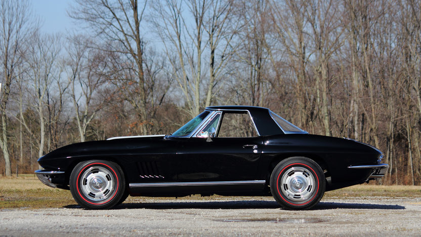 1967 Chevrolet Corvette Convertible Original 427/435 HP, Black/Saddle presented as lot S163 at Indianapolis, IN 2013 - image2