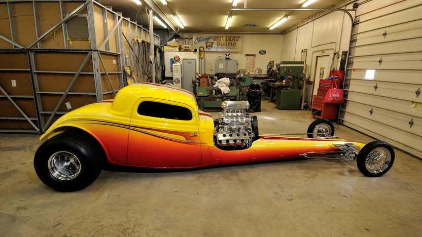 1934 Ford 3 Window Coupe Dragster presented as lot S165 at Indianapolis, IN 2013 - image2