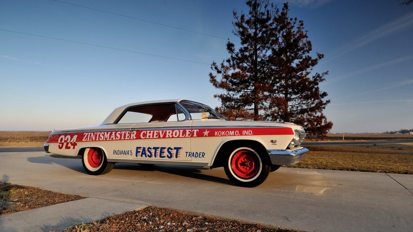 1962 Chevrolet Impala Lightweight Drag Car 409/409 HP, 4-Speed presented as lot S168 at Indianapolis, IN 2013 - image12