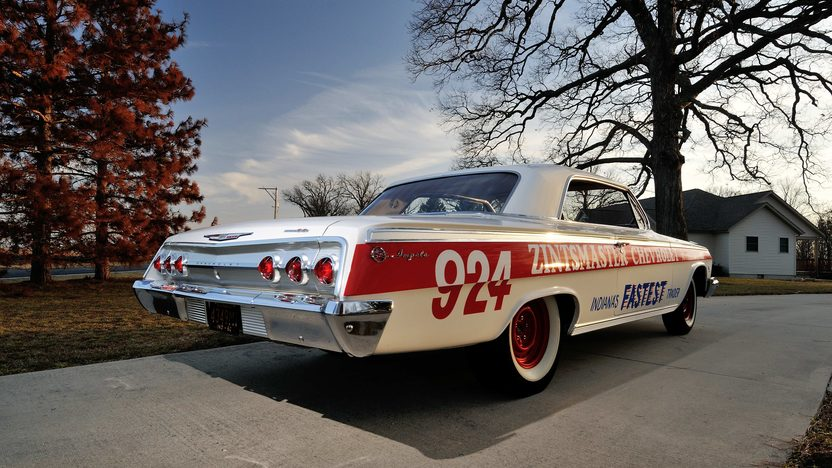 1962 Chevrolet Impala Lightweight Drag Car 409/409 HP, 4-Speed presented as lot S168 at Indianapolis, IN 2013 - image3