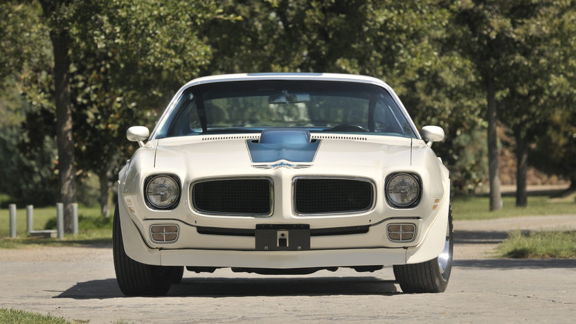 1970 Pontiac Trans Am Ram Air IV 400/370 HP, 4-Speed presented as lot S169 at Indianapolis, IN 2013 - image12