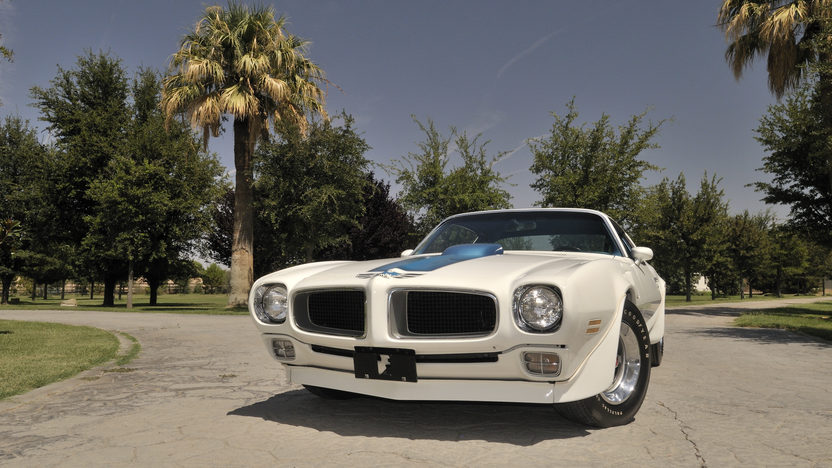 1970 Pontiac Trans Am Ram Air IV 400/370 HP, 4-Speed presented as lot S169 at Indianapolis, IN 2013 - image9