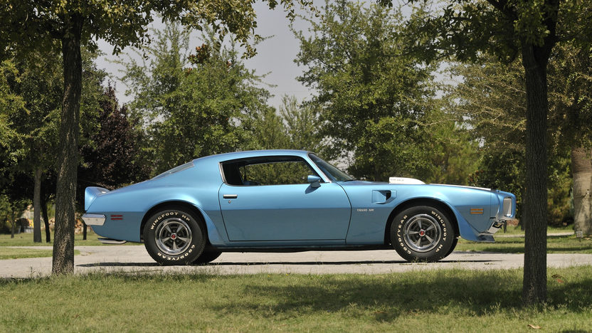 1970 Pontiac Trans Am Ram Air IV 400/370 HP, Automatic presented as lot S174 at Indianapolis, IN 2013 - image10