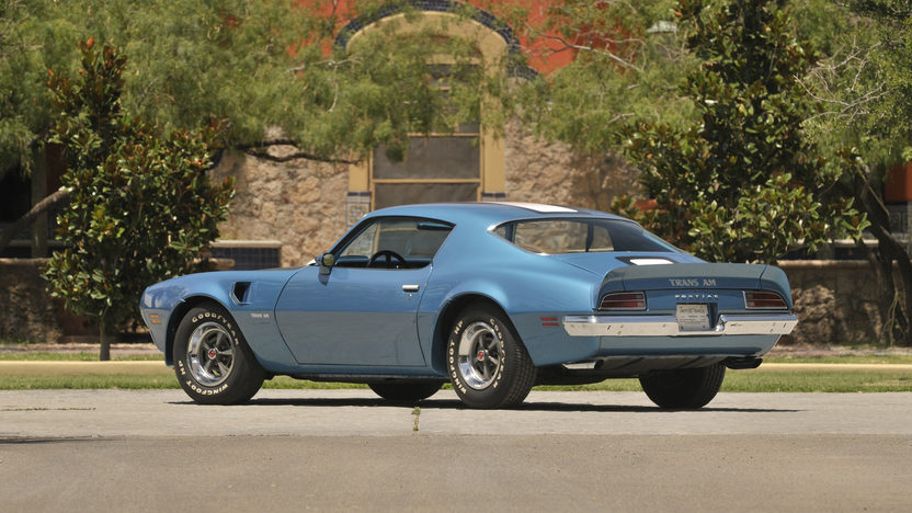 1970 Pontiac Trans Am Ram Air IV 400/370 HP, Automatic presented as lot S174 at Indianapolis, IN 2013 - image2